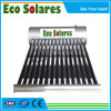 Low Pressure Vacuum Tube Solar Hot Water Heater with Backup Electrical Heater