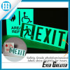 Custom Glow in Dark Green Exit Stickers