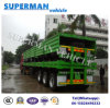 40FT Utility Tri-Axle Bulk Cargo Sidewall Container Truck Semi-Trailer