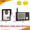 3.5 Inch LCD 2.4GHz Wireless Video Door Phone