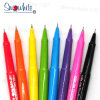 Customized Logo Plastic Roller Pen Pb100 with Sign 8 Color Assorted