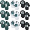 New with Tags Bennie Logan Connor Barwin Brown Elite Game Football Jerseys