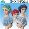 Nonwoven Bouffant Cap for Hospital, Round Hats for Food Processing