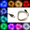 Waterproof Outdoor Xmas Christmas Decoration Light LED Cooper Wire String Light
