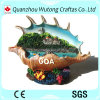Custom Made Conch Building Model Resin Indian Tourist Souvenirs
