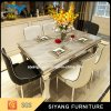 Stainless Steel Dining Table with Sofa Chair for Home Furniture