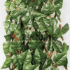 Artificial Hedge Plastic Leaf Fence Wall Boxwood