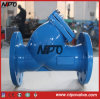API 6D Cast Iron Flanged Y Type Strainer