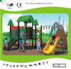 Kaiqi Small Forest Themed Children′s Playground with Swinging Equipment (KQ30105A)