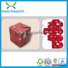 Fancy Vhocolate Paper Packing Box for Wedding Invitation