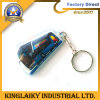 Lower Price PVC Keyring Light with Logo for Promotion (KL-1)
