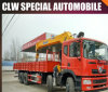 Clw 8*4 Heavy Duty Truck Mounted Crane, 10-20ton Truck Crane with Folding Arms