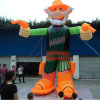 High Quality Orange Advertising Inflatable Cartoon Model for Advertisement