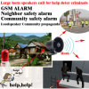 GSM SMS Controller for Neighbor Safety and Community Alarm
