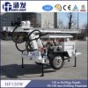 Welcomed in South Ameraica! High Efficiency Hf120W Trailer Hydraulic Small Well Drill Rigs
