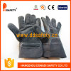 Ddsafety 2017 Black Cow Split Leather Glove Safety Gloves
