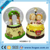 Resin Boy and Girl Snow Globe (HG155)