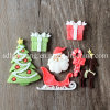F0534 Christmas Silicone Fondant Molds for Cake Decoration Tools