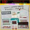 Lip Gloss & Eye Shadow & Blush & Cosmetics Bag Don't Open Until Makeup Set