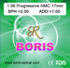 Progressive Cr39 1.56 Regular Corridor 17mm Hmc Optical Lens