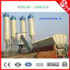 Hzs120 Commercial Concrete Plant with Computer Control