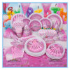 Birthday Party Supplies Fantasy Girl Princess Set Children Pink Theme Birthday Party Products