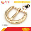 Gold Shinning Fashion Metal Pin Buckle for Belts/Garments/Suspenders