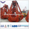 Mechanical Four Ropes Orange Peel Grab Bucket