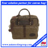 Mens Traveling Fashion Leisure Waxed Canvas Tote Bag
