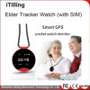 GSM+GPS+Lbs+WiFi Location with Waterproof Function Smart Pocket Watch Phone Design GPS Tracker Cell Mobile Phone