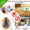 Indoor Powerful Plug-in Spider and Bed Bug Pest Repeller with Night Light