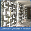 Stainless Steel Metal Fabrication Laser Cut Metal Panels Room Divider