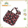 Promotional Polyester Waterproof Colorful Foldable Tote Eco Friendly Shopping Bag