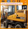 Used Hyundai R150W-7 Wheel Excavator for Construction (R150W)