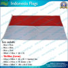 90X180cm 160GSM Spun Polyester Indonesia Flag (NF05F09024)