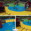 The Safety and Delicacy Removal Kindergarden Surface-EPDM Rubber Granules (K04yellow)