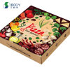 Custom Design Printed Carton Corrugated Cardboard Delivery Packaging Boxes Manufacturers Packing Pizza Box