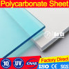 1.3mm-8mm UV Coatings Clear Compact Polycarbonate Sheet
