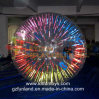 Inflatable Zorbing Game: Glow Lighted Shining Zorb Ball Toy.