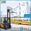 Material Handling Mechanical Steel Forklift Crane Jib Attachment