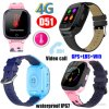 Waterproof IP67 GPS Tracking Thermometer Watch with Video Call D51