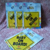 Custom Printed Baby on Board Sign Car Window Sticker