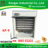 Fully Automatic Digital Quail Egg Incubator Hatchery Machine 880 Eggs