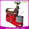 Professional Experience Coffee Bean Roasting Machine Gas Heating Coffee Roaster