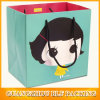 Customized Lovely Girl Printed Small Paper Bags (BLF-PB123)