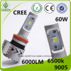 High Power Brightest CREE-Xhp 50 Auto LED Headlight 60W 6000lm