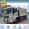 Dongfeng 4*2 15m3 Compress and Transport Garbage Truck 15 Tons Rubbish Truck