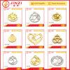 Jinzi Metal Brand Logo Tag Customed Metal Hollow Tags for Bags