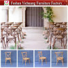 Used Stacking Coss Back Designer Vintage Wooden Chair for Wedding and Restaurant Yc-As62-1