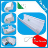 Africa Hot Sale Rainwater Drainage Square Gutter PVC Rainwater Downspout Fitting